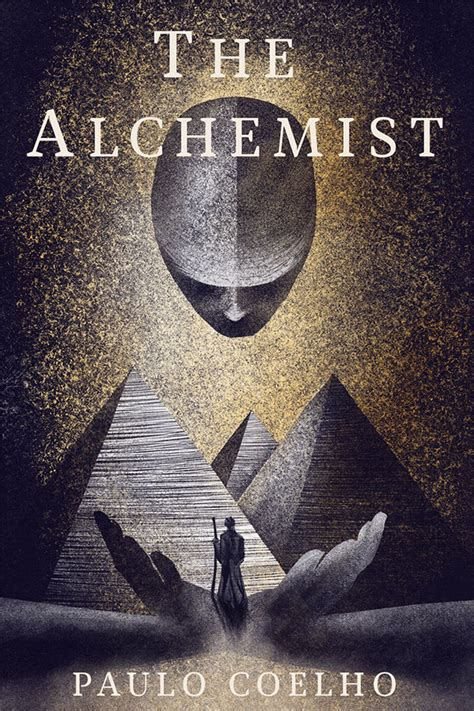 The Alchemist Mock Book Cover on Behance