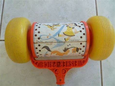 Rouleau Musical Fisher Price vintage - 1972 – Luckyfind