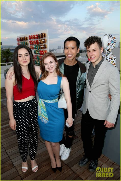 Modern Family's Nolan Gould Goofs Off with Friends at JJJ