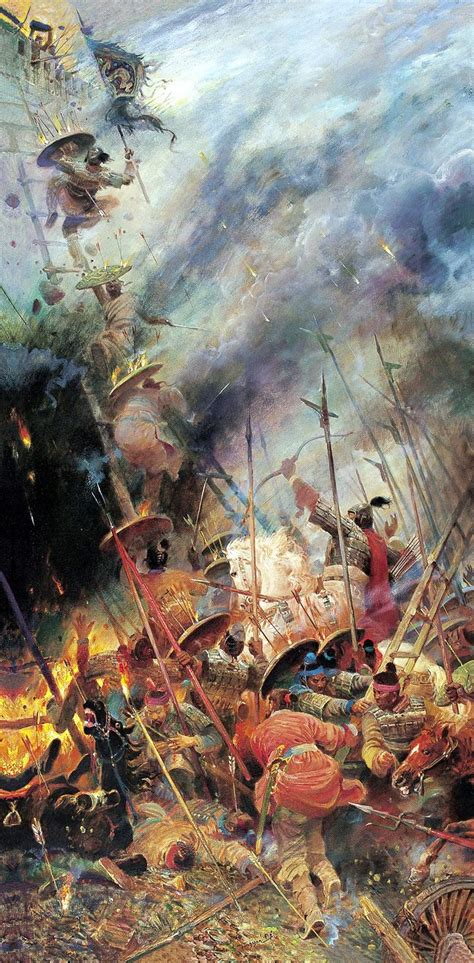 Siege warfare, Spring and Autumn Period, Ancient China
