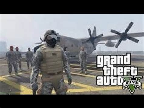 GTA 5 Glitch Military Outfit - YouTube