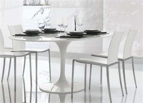 20 Collection of Round Acrylic Dining Tables   Dining Room