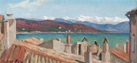 Roger Fry (1866-1934) , Alpes Maritimes from St