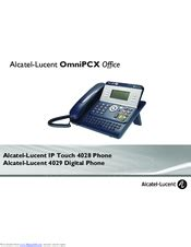 Alcatel-lucent IP Touch 4028 Manuals   ManualsLib