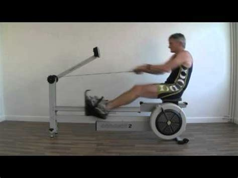 Concept2 Dynamic Erg - Rowing Technique - YouTube