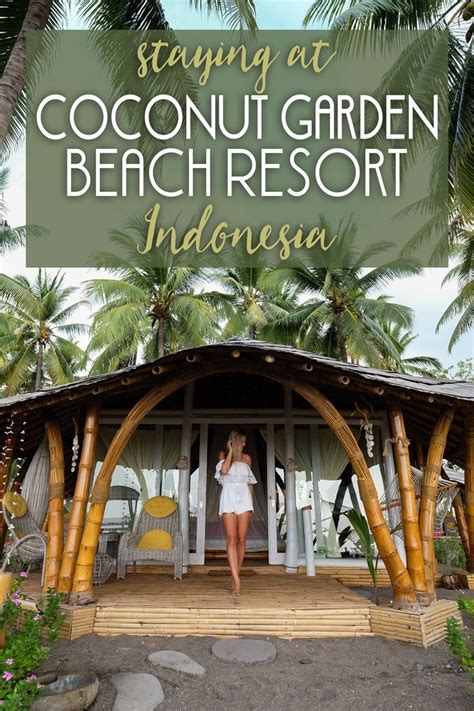 Staying at Coconut Garden Beach Resort in Indonesia • The