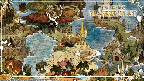 Final Fantasy: The 4 Heroes of Light Wallpapers - The