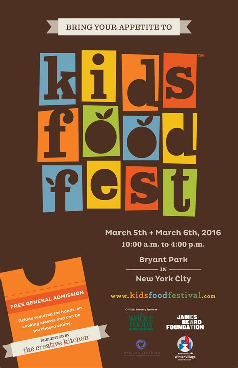 Kids Food Festival: Weekend of Events to Help End