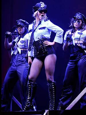 Lot Detail - Britney Spears Circus Tour Stage Worn Police