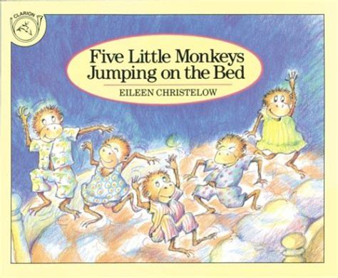 Five Little Monkeys Jumping On The Bed - English 271