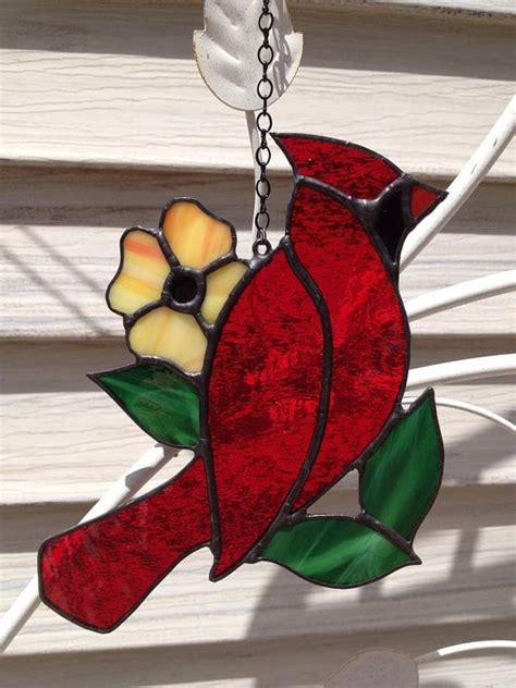 17 Best images about Stained Glass - Birds - Cardinals on