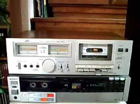 The JVC KD A22 stereo cassette deck - YouTube