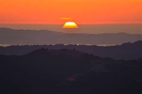 Sunset from Mount Diablo | (view large on black) We joined