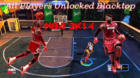How To Get All Players In NBA 2K14 Blacktop PC - YouTube