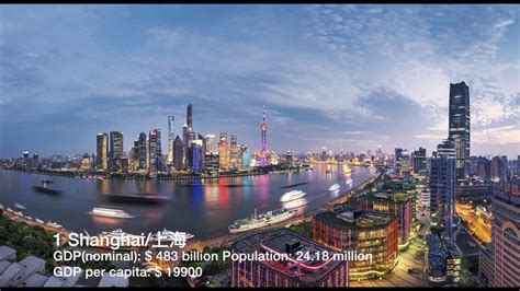 Top 50 Richest Cities in Mainland China (by GDP nominal