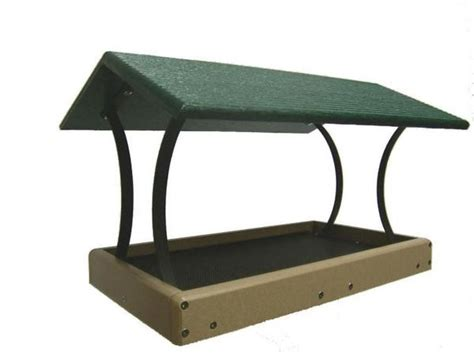 Large Fly-Thru Platform Feeder - Recycled Plastic – The