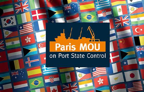 Paris MOU updates the Flag and RO Performance tables 2015