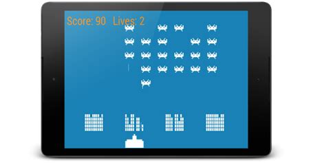 Coding a Space Invaders game for Android - Game Code School