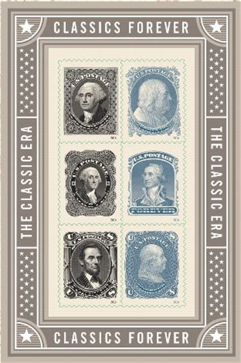 Update: Stamp Announcement 16-18: Classics Forever Stamps
