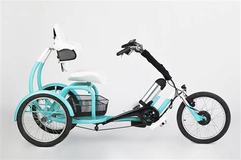 the CERO e-tricycle emphasizes strength + support