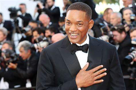 Jury member Will Smith having the time of his life at