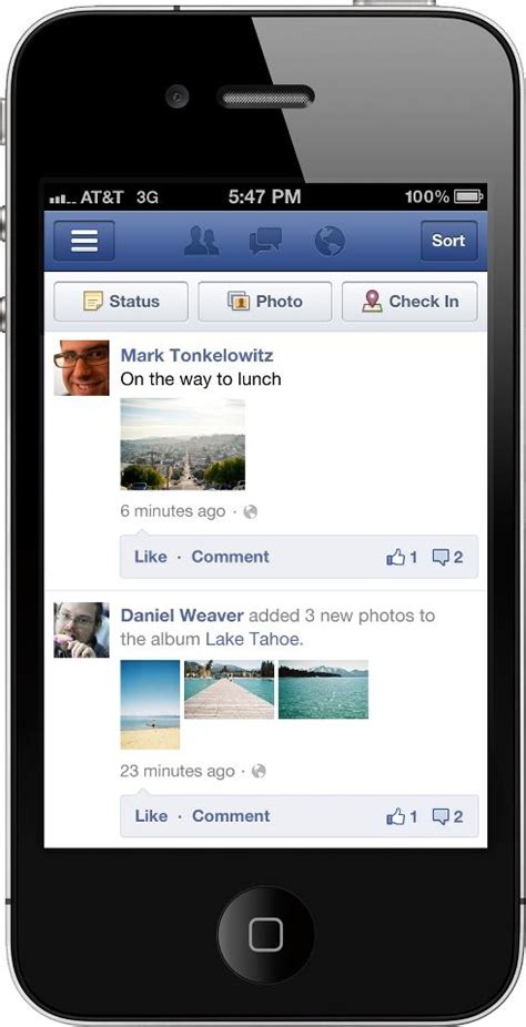 Facebook introduces Timeline for mobile users: Update for