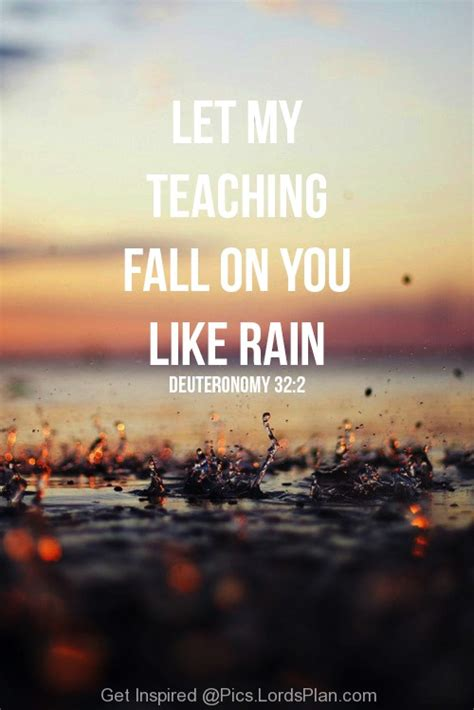 Bible Quotes About Rain