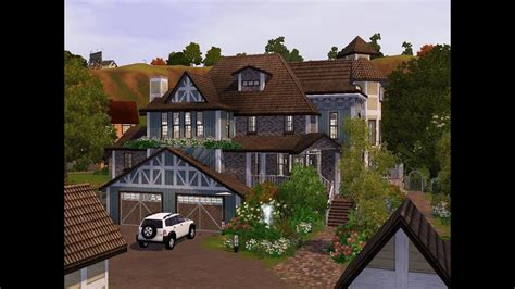 The Sims 3 - Building a victorian ranch - YouTube