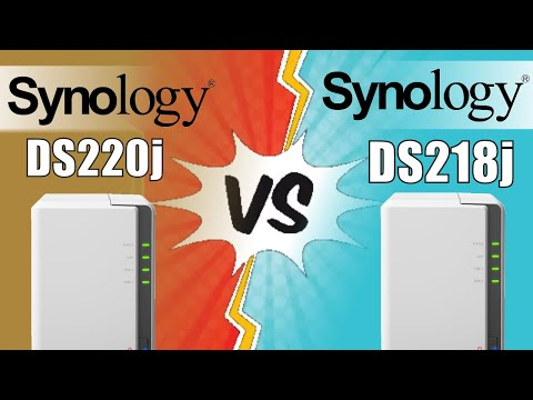 Synology DS220j Review | Synology 2 Bay NAS DiskStation