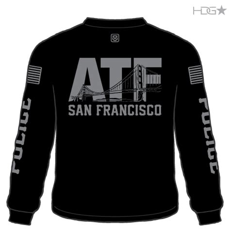 ATF Police Long Sleeve T-Shirt - HDG★ Tactical