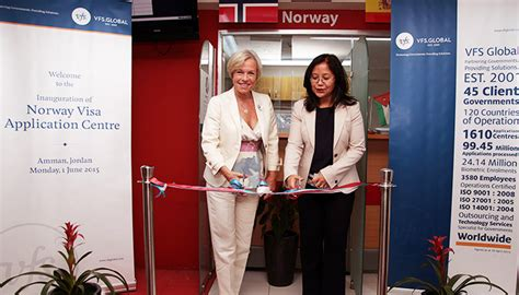 Norway and VFS Global extend visa service delivery to