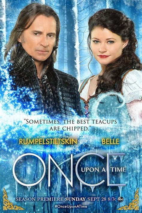 Once Upon a Time - Season 4 - Rumbelle - Promotional Poster