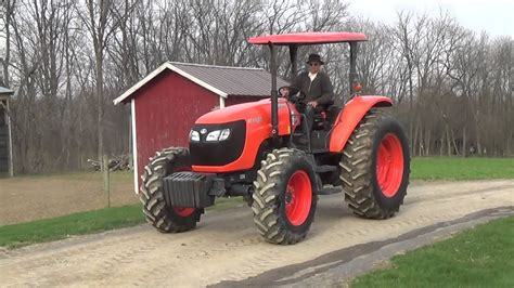 2013 KUBOTA M108S 4WD TRACTOR WITH CANOPY - YouTube