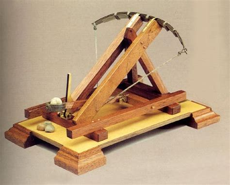 A catapult which works like a ballista