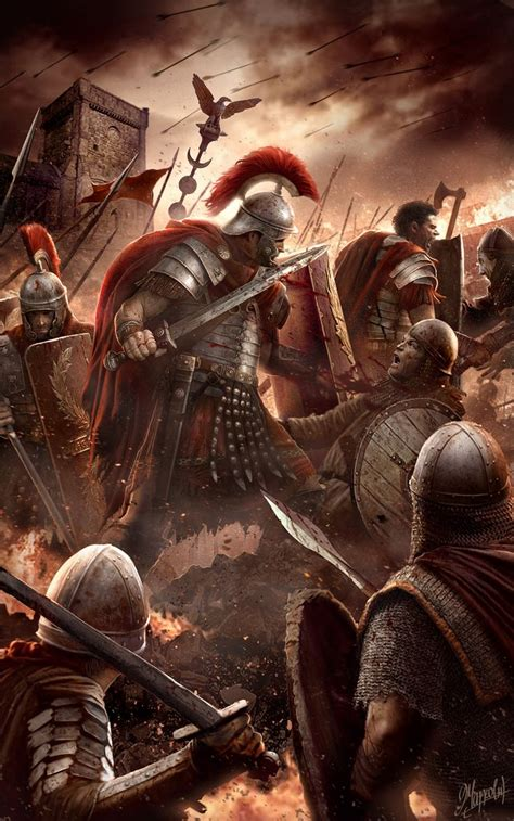 For the glory of Rome by DusanMarkovic   Roman soldiers