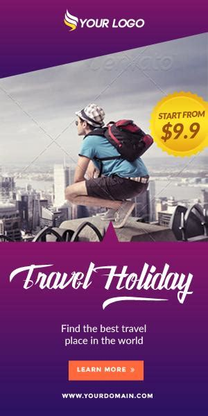 Travel Ads Banner HTML5 - GWD by DesainPro | CodeCanyon