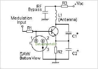 SAW Resonator 330MHz   All About Circuits